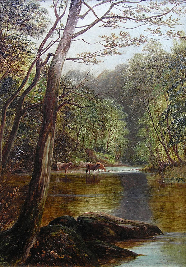 William Mellor - On the Wharfe