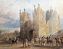 Thomas Miles Richardson Painting Alnwick Castle
