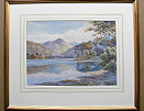 Albert Rosser framed  Broomhill Point Derwentwater