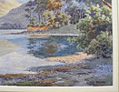 Albert Rosser painting  Broomhill Point Derwentwater