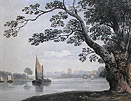 John Varley painting Thames London