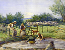 Sheep washing, Rothbury