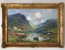 The Gap of Dunloe.A.F.Breanski.Jr.Frame.