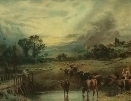 Sunset with Cattle.1.M.B.Foster