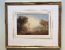 Cattle Grazing,Richmond Castle.Frame.Anthony Vandyke Copley Fielding