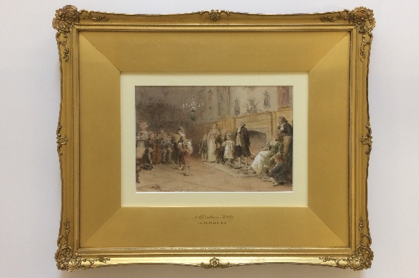 Christmas Party.Frame.G.G.Kilburne.