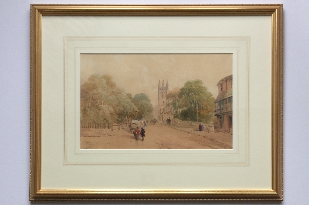 Church Street Scene.T.M.Richardson.Snr.1