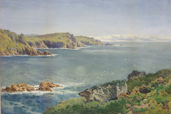 Cornish Coastline.A.Tucker