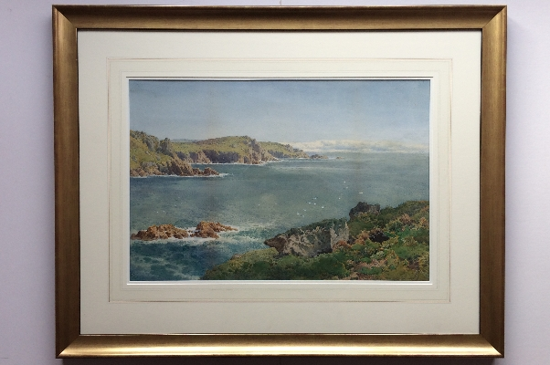 Cornish Coastline.Frame.A.Tucker