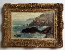 J.G.Naish. Cornwal. Framed