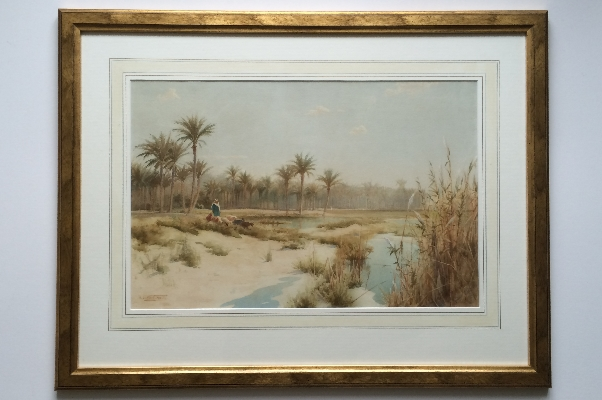 At the OasisFrame.R.Talbot Kelly