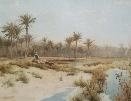 At the Oasis.R.Talbot Kelly