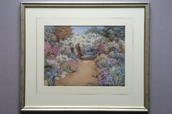 Roses Double Boarder.frame.Beatrice Parsons.