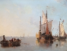 Dutch Fishing Boats.J.W.Carmichael