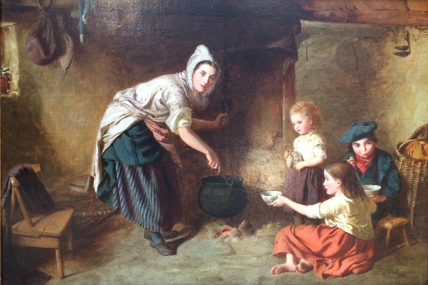 Mother feeding family.W.G.Brownlow