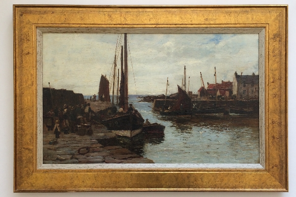 Kirkaldy Harbour.Frame.Richard Wane.