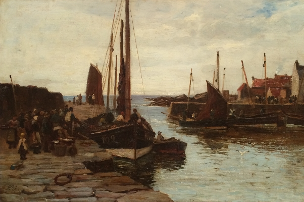 Kirkaldy Harbour.Richard Wane.