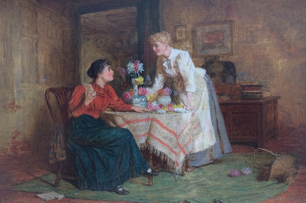 Flower Arranging.R.W.Wright.