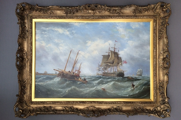 Off a Dutch Headland.Frame.New.J.W.Carmichael