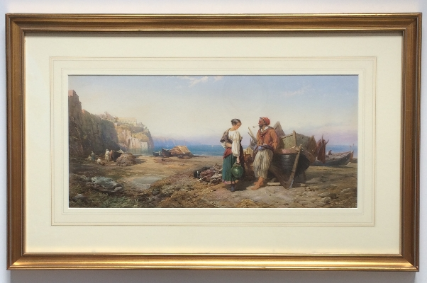 Near Genoa.Frame.T.M.Richardson.Jr.