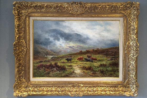 Glen Falloch.Perthshire.H.H.Parker.Frame.