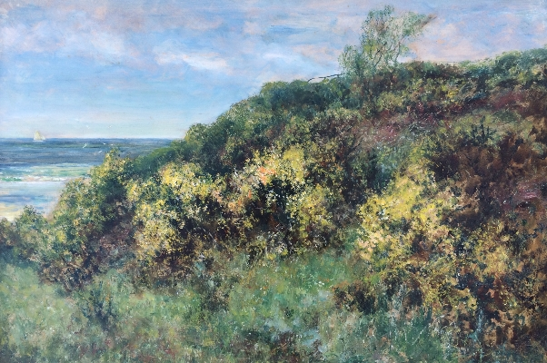 Gorse at Cullercoates.J.F.Slater
