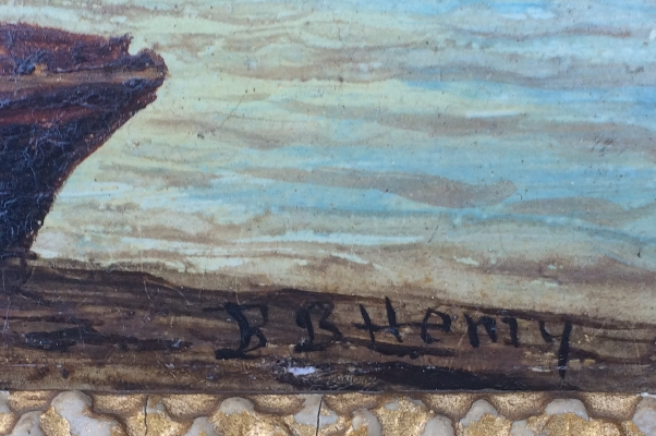 At North Shields 2.Sign.B.B.Hemy.
