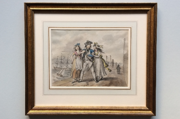 Home from the Sea.Frame.Isaac Cruikshank