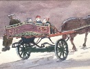Norman Cornish.Horse & Cart