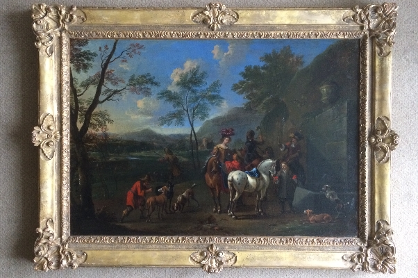 Hunting Party.Frame.Francis Hamers