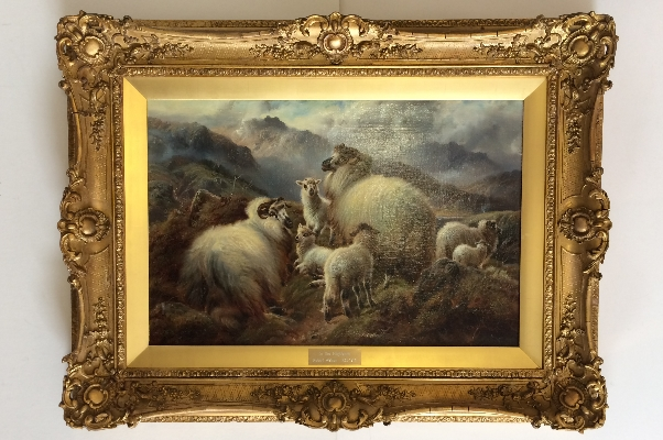 In the Highlands.Frame.Robert F Watson.