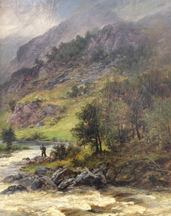 Fishing in Highlands.Charles Stuart.