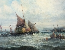 Marine Scene.W.Thornley