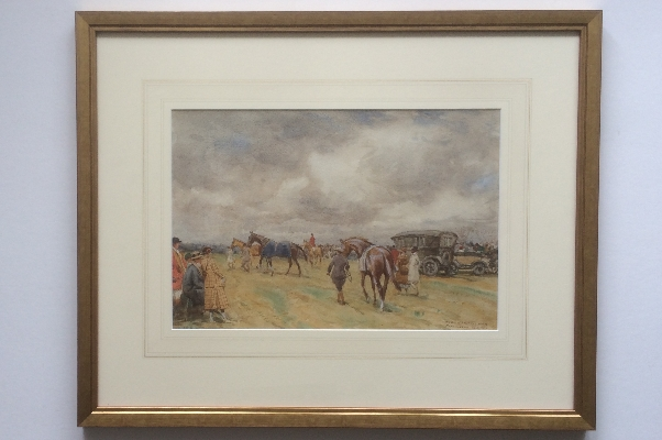 Morpeth Point to Point. Frame. J.Atkinson.