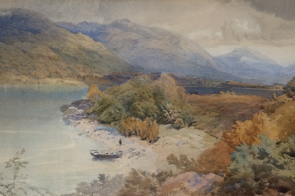 On Loch Awe.T.M.Richardson.