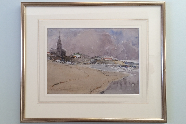 On Tynemouth sands.Frame.G.E.Horton
