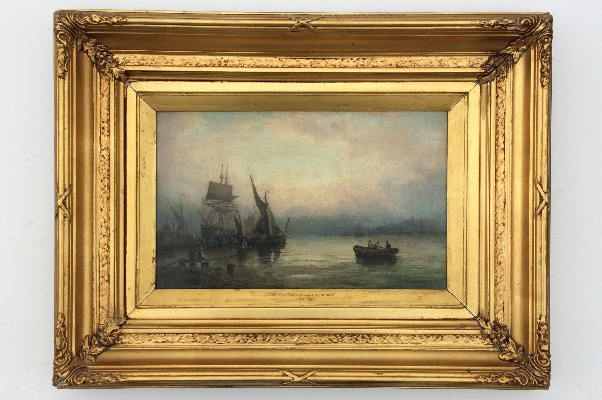 On the Medway near Gillngham.Frame.W.Thornley