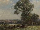 Landscape with Cattle.Owen Bowen