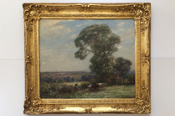 Landscape with Cattle.Frame.Owen Bowen.