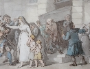 Persecution to the Grave.Thomas Rowlandson