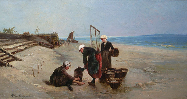 Paul Huguenin - Mussel Gatherers 2