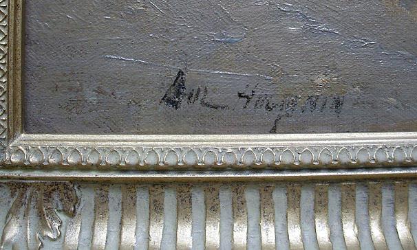 Paul Huguenin - artist signature