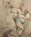 Sowing Wild Oats.T.Rowlandson.2.