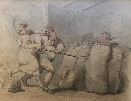 Sowing Wild Oats.T.Rowlandson.
