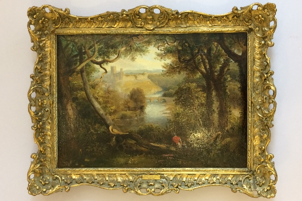 View of Richmond.Frame.J.W.Carmichael