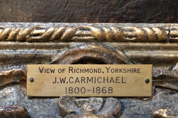 View of Richmond.Label.J.W.Carmichael