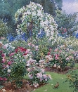 Rose Garden,Eton Colledge.B.E.Parsons
