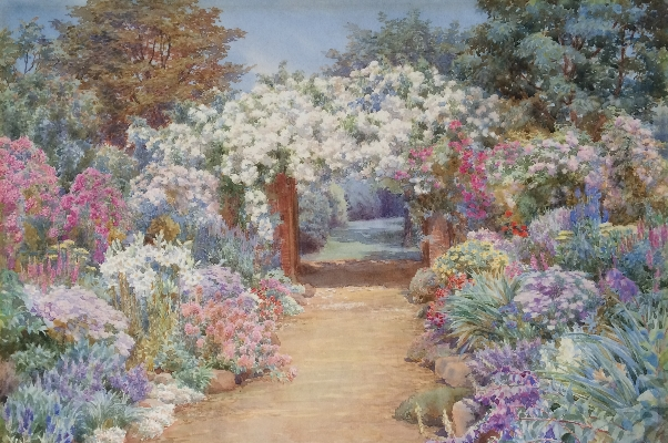 Roses Double Boarder.Beatrice Parsons.