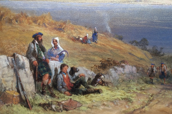 Scottish Scene.Detail.left.E.Richardson.