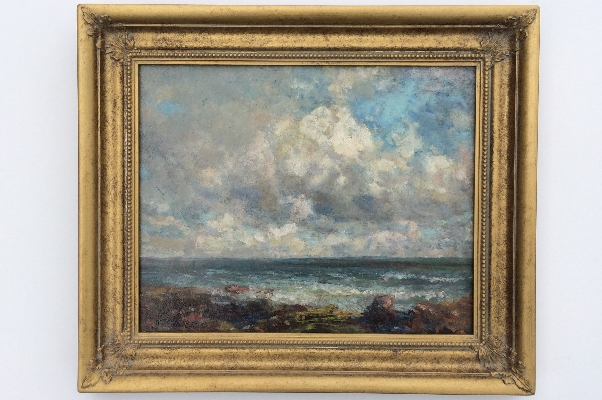 Sea and Sky.Frame.J.F.Slater.